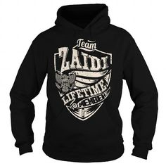 Cool Last Name, Surname Tshirts - Team ZAIDI Lifetime Member Eagle Shirts & Tees
