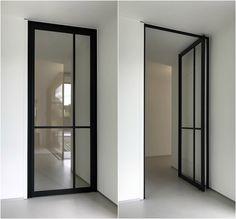 Steel look pivotdeur - ANYWAYdoors