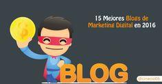 Los mejores blogs de Marketing en 2016 según los Premios Bitácoras y una serie de grandes blogs para aprender bastante sobre Marketing, SEO o WordPress.