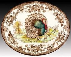 Nancy's Daily Dish: Talking Turkey.... and Transferware