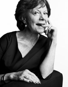 Neelie Kroes, Dutch Europian Commissioner.  VOGUE Nederland