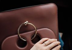 J.W. ANDERSON Bag / KAT KIM Ring #Piercebag #jwanderson