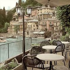mediterranean italian cafe poster