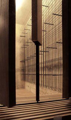 red pif wine depot   wine storage ~ aulik fiser architekti