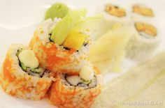 California Maki and Spicy Tuna Maki