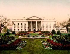 12 October 1901 — On this date, President Theodore Roosevelt officially renamed the home of the president of the United States as The White House.