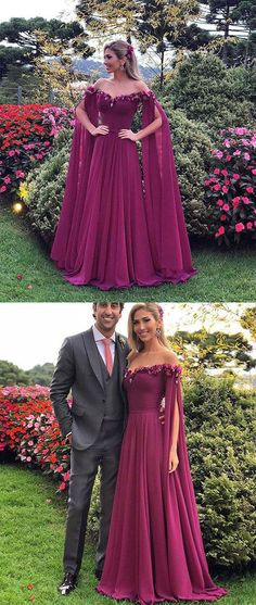 Unique sweetheart chiffon long prom dress, chiffon evening dress · LovePromDresses · Online Store Powered by Storenvy Unique Prom Dresses, A Line Prom Dresses, Modest Dresses, Elegant Dresses, Homecoming Dresses, Pretty Dresses, Formal Dresses, Dress Prom, Long Dresses