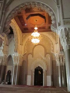 mihrab of hassan 2 mosque ile ilgili görsel sonucu Hassan 2, Casablanca, Mosque, Barcelona Cathedral, Taj Mahal, Building, Buildings, Mosques, Construction