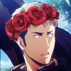 ...And here I am with a flower crown.))