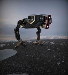 Bot catalog: RAPTOBOT on Behance