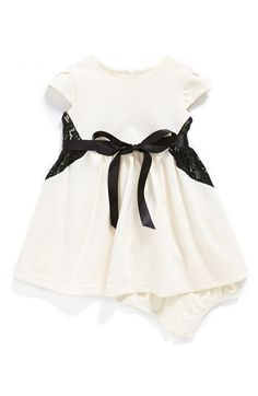 Us Angels Cap Sleeve Dress & Bloomers (Baby Girls) (Online Only) available at #Nordstrom