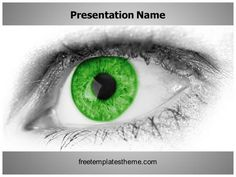 107 best free medical powerpoint ppt templates images on pinterest get this free green eye powerpoint template with different slides for toneelgroepblik Gallery