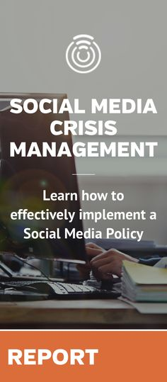 Complete guide to managing a social media crisis. Including guidance on tools, processes and how to create and use a social media policy effectively.