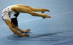 2006 World Champion Vanessa Ferrari of Italy #gymnastics #KyFun from Gymnasts & Meets board