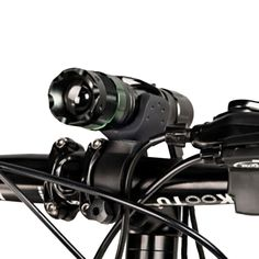 Bicycle Bike Front Light CREE Q5 LED Torch 300 LM 3 Modes with Flashlight Holder