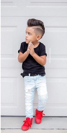 Little Boy Hairstyles-Children's Fashion-Boy's Outfits-Kid's Summer Outfits