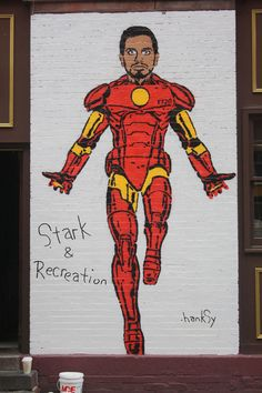 Little Italy Art Crawl x Parks and Recreation Parks And Rec Memes, Parks And Recs, Parks And Recreation, The New Wolverine, Space Captain, Tom Haverford, Artsy Photos, Italy Art, Film Books