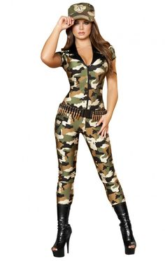 105c7136414 8 Best army costumes images in 2016 | Costumes, Army girl halloween ...