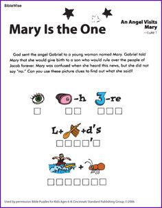 These Christmas Activity Worksheets Review Four Important Bible Stories Related To Jesus Birth Gabriel Visits Mary Is Born The Shepherds