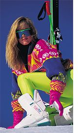 80's ski fashion - Ski chic??