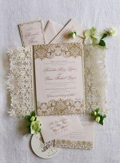 Wedding Invitation Inspiration - Photo: Jose Villa