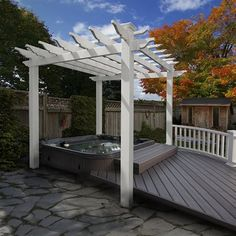 Find New England Arbors Liberty Pergola online. Shop the latest collection of New England Arbors Liberty Pergola from the popular stores - all in one Diy Pergola, Pergola Canopy, Outdoor Pergola, Pergola Lighting, Cheap Pergola, Wooden Pergola, Pergola Shade, Backyard Patio, Pergola Roof