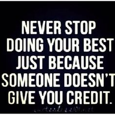 Do your best, regardless.