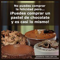 En Pastelería Rivera contamos con una amplia variedad de pasteles de chocolate. ¡Felicidad absoluta!