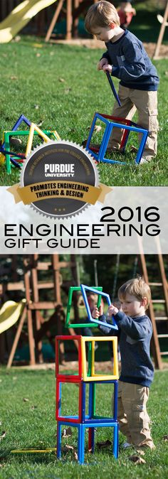 This Dream Builder™ Set is one of the many fun toys reviewed in the 2016 Purdue University Engineering Gift Guide available now! Toddler Toys, Kids Toys, Games For Kids, Activities For Kids, Preschool Playground, Purdue University, Parenting 101, Creative Gifts, Baby Fever