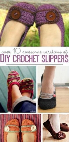 Crochet Slippers Free Patterns