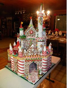 (This Old House - 2010 Gingerbread House Contest)  //  Looks Like A Castle To Me !!!