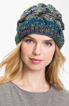 Laundry by Shelli Segal Cable Knit Beanie available at #Nordstrom  perfect accessory for winter!!!