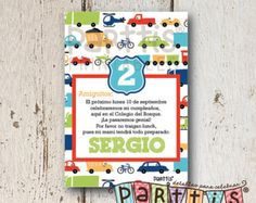 Transportation Party Straws by thepartypenguin on Etsy