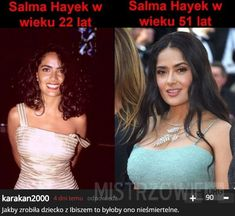 Salma Hayek at 22 and 51 Salma Hayek, Types Of Bones, Best Dad Gifts, The Eighth Day, Ex Girlfriends, Celebs, Celebrities, Secret Obsession, Best Memes