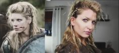 How to do Lagertha's hair in The Vikings