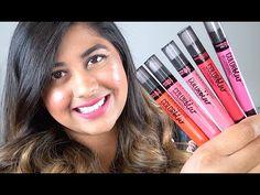NEW Maybelline COLOR BLUR Matte Lip Pencils: Review & Lip Swatches!