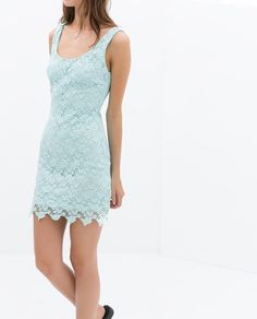 Image 4 of BACKLESS TUBE DRESS from Zara Moda Zara, Vestidos Zara, Zara Fashion, Tube Dress, Zara United States, Formal Prom, Zara Dresses, Ideias Fashion, Backless