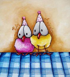 Party animals... - Lucia Stewart