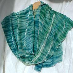 Shibori.  Great colors.