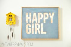 DIY LIGHTED Sign Tutorial - easy, fairly inexpensive, and very cool - fun project  *********************************************  Vintage Revivals - #lighted #sign #DIY t√