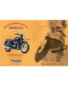 Triumph - for the girls too!