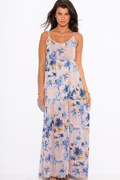 Giselle Floral Maxi Dress