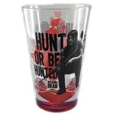We love this awesome Daryl Dixon acrylic cup! Features great imagery of Daryl with his crossbow along with text 'Hunt or Be Hunted' on both sides. Great gift for The Walking Dead fans.