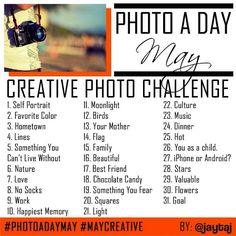 May Photo challenge