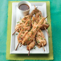 Asian Chicken Skewers Recipe from Land O'Lakes