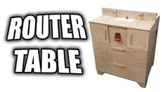 Homemade 3 in 1 multipurpose workbench table saw router table and how to make a router table youtube greentooth Gallery