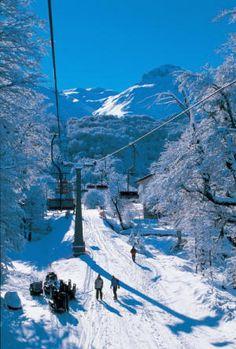 Termas de Chillan, Chile... vacaciones invierno 2007