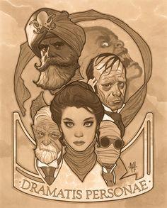 League of Extarordinary Gentlemen by Adam Hughes