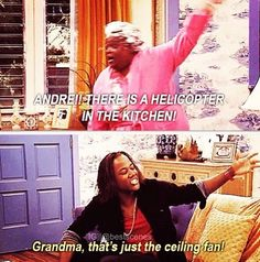 Lol. Andres grandma was hilarious. So many childhood memories, Mel used to watch it with me. it was HILARIOUS