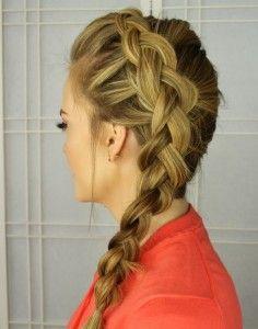 Cute braided hairstyles for long hair (22)